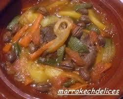 cuisiner du jarret de boeuf tagine au jarret de boeuf et marrakechdelices bloguez com