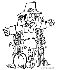 Harvest Coloring Pages Printables Images Pictures