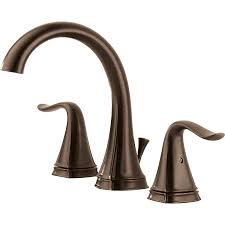 shop delta celice venetian bronze 2 handle widespread watersense