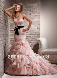 pink mermaid wedding dress naf dresses