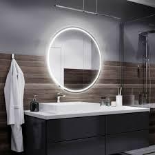spiegel badspiegel mit led rund spiegel mit beleuchtung