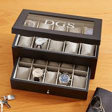 Dresser Valet Watch Box by Personalized Men U0027s Accessories At Personal Creations