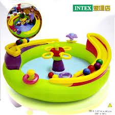 piscine a balle gonflable intex piste piscine à balles océan piscine à balles jouets