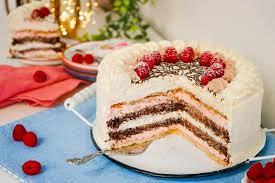 himbeer schokoladen torte