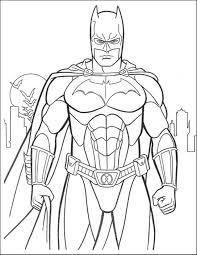 Free Batman Coloring Pages