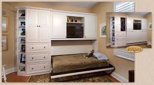 Cabinets A custom Showplace Murphy Wall Bed wel es guests