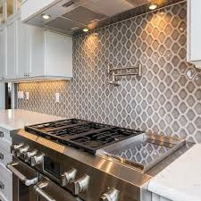 hex smoke ceramic mosaic tile 5 x 5 5 in in the kitchen