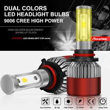 new cree led headlight kit 9006 hb4 9012 1050w 6000k 157500lm