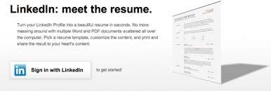 LinkedIn Resume Builder On Labs