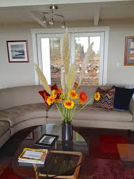 Decorating Living Room With Flowers Flower Decoration For R On Autumn Decor Ideas