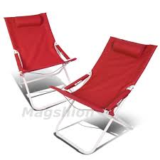 Picnic Time Reclining Camp Chair by Camping Chairs