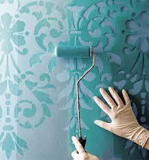 decorative stencils for walls modern paint effects stenciling paint techniques and walls