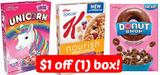 Kelloggs Cereals 1 Coupon