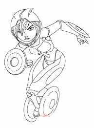 Free Big Hero 6 Go Tomago Coloring Page Just Print Out And Have A