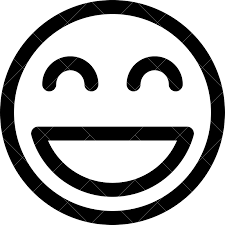 Smiling Emoji Outline