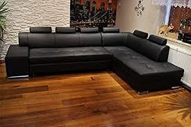 quattro meble echtleder ecksofa pik 6z 300 x 200 sofa mit schlaffunktion bettkasten und kopfstützen echt leder eck große