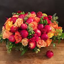 Perfect Autumn Fall Flower Arrangement from a NYC Luxury Florist