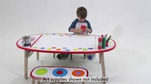 Alex Toys Artist Studio Magnetic by Alex Toys Super Art Table Rainbow Dot 711wc Youtube