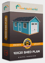 10x20 Storage Shed Plans by 10x20 Gable Storage Shed Plan Howtobuildashed Org