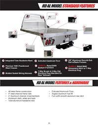 CM Truck Bed, ALRD Model, Aluminum, Cab/Chassis 9'4