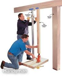 how to repair a load bearing post family handyman