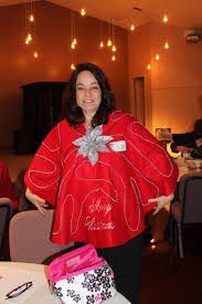 Heres Another Creative Sweater By Sue Parker Sues Our MDS Queen Who Has Many FREE Give Aways On Her Blog HERE She Made Out Of A TREE SKIRT