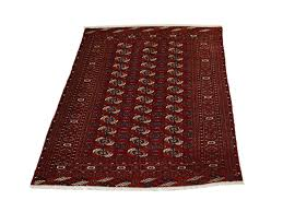 afghan teppich 180 x 123 cm rot morgenland teppiche