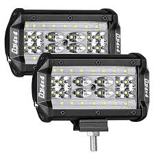 Best Led Flood Work Lights For Truck | Amazon.com 12v 18w 6led Waterproof Led Headlights Flood Work Light Motorcycle 4pcs 4inch Work Light Bar Driving Flood Beam Suv Atv Jeep New 4inch 57w Lights Offroad Led Bar Trucks Boat 4x4 4wd Atv Uaz Suv Driving 2pcs 18w Flood Beam Led Work Light 12v 24v Offroad Fog Lamp Trucks Truck Lite Spot With Ingrated Mount 81711 Trucklite 50 Inch 250w Spotflood Combo 21400 Lumens Cree Signalstat Stud Mount Oval Lot Two Mini 27w 9 Worklights Fog For Tractor Xrll 27w Forklift Square Cube Pods Flush