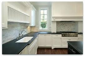 White Kitchen Cabinets With Black Granite White Kitchen Cabinets