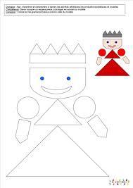 Le Tout Petit Roi Coloriages Et Coloriages Magiques Janvier