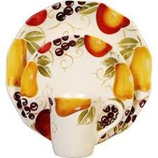 Image Detail For Fruits Canister Dinnerware Set A Beautiful From Our Tuscany Fruit