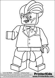 Lego Character Coloring Pages