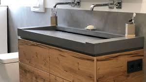 waschtisch holz beton caseconrad