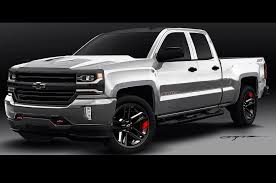 2016 Chevrolet Silverado, Colorado Red Line Concepts Shown Ahead Of ... 6 Most Popular Truck Accsories In Winston Salem Bumpers Exterior Chevrolet Silverado Air Design Usa The Ultimate 19992006 Chevy 1500 Bushwacker Extafender Flares Front And Rear Set New Arb Deluxe Modular Winch Bumper For 2015 Rightline Gear 1710 Fullsize Long Bed Tent 8 2014 All About Aftermarket For Truck Accsories So Much More Speak To One Of Our Payne Recon 264138bk Gmc 1517 Sierra 3rd Gen Dually Fender Lenses 4piece W 2 Red Led Lights Amber Smoked Outfitters
