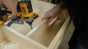 building a computer desk diy desk pc part 1 u2014 crafted workshop