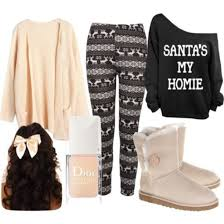 Sweater Apricot Black Hair Bow Nail Polish Boots Winter Ugg Leggings Oversized