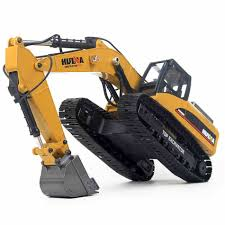 HUINA 580 Hobby Rc Hydraulic Excavator Kids Car Toys For Boys Car ...