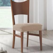 housse assise de chaise extensible chinée