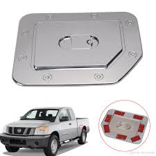 2018 Chrome Fuel Tank Gas Door Cap Cover For Nissan Titan 2004 2014 ... Ram Trucks Fuel Efficienct Quick Hit Filling Up With Titan Tanks 90 Gallon 340 L Hammerhead Lshape Combo Liquid Transfer Tank 62gallon Replacement And 30gallon Spare Tire Auxiliary 99013300 Buddy Mount For Truck Bed 72 Rolltop Cover 50 Split Refueling Dualtank System Flow Inc Lovely In Free Shipping Scotts 1976 Jeep J10 Blog Removing The 45 External Fill Tool Box Chrome Fuel Door Tank Cap Cover Trim For Mitsubishi Triton 2