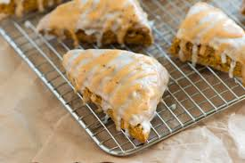 Pumpkin White Chocolate Chip Scones by Perfectly Spiced Pumpkin Scones Recipe