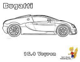 Bugatti Side View Race Car Coloring Page To Print At YesColoring