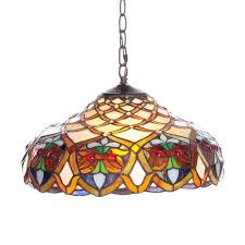 s stained glass kitchen pendant light ceiling l ebay