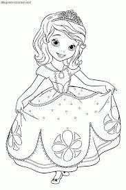 Imagenes Princesas Disney Para Colorear