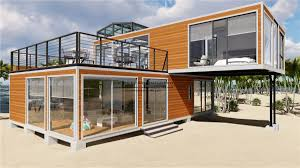 100 House Made From Storage Containers High Quality Prefab Modular Movable Modify Shipping
