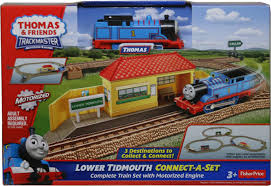Trackmaster Tidmouth Sheds Toys R Us by Amazon Com Thomas U0026 Friends Trackmaster Lower Tidmouth Connect A