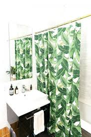 Curved Curtain Rod Kohls by Giraffe Print Personalized Shower Curtain Christmas Shower