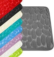 wohndirect set 2 teilig badezimmerteppich mit memory foam rutschfester badteppich badematte waschbar schnelltrocknend auch ideal als