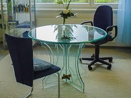 glastisch rund 110 cm durchmesser kaufen auf ricardo