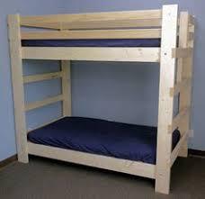 custom built queen over queen bunk beds by francis lofts lake