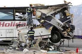 Tour Bus Crashes Into Truck, Killing 13 On California Highway ... Trucking Accident Claim Having The Right Team Of Attorneys Have Tow Truck Crashes Into Metro Bus Then 7eleven Store 5th Los Angeles Dump Lawyer Free Case Review Call 247 How Much Is My Worth In Port Accident Youtube Metrolink Train Slams Into Truck Oxnard Driver Arrested For Times Attorney Los Angeles Accidents 2016 Caught On Camera General Views Justin Bieber Involved Car Out Side Driver Charged With Murder Alleged Seetracing Crash 5 Personal Injury Attorney
